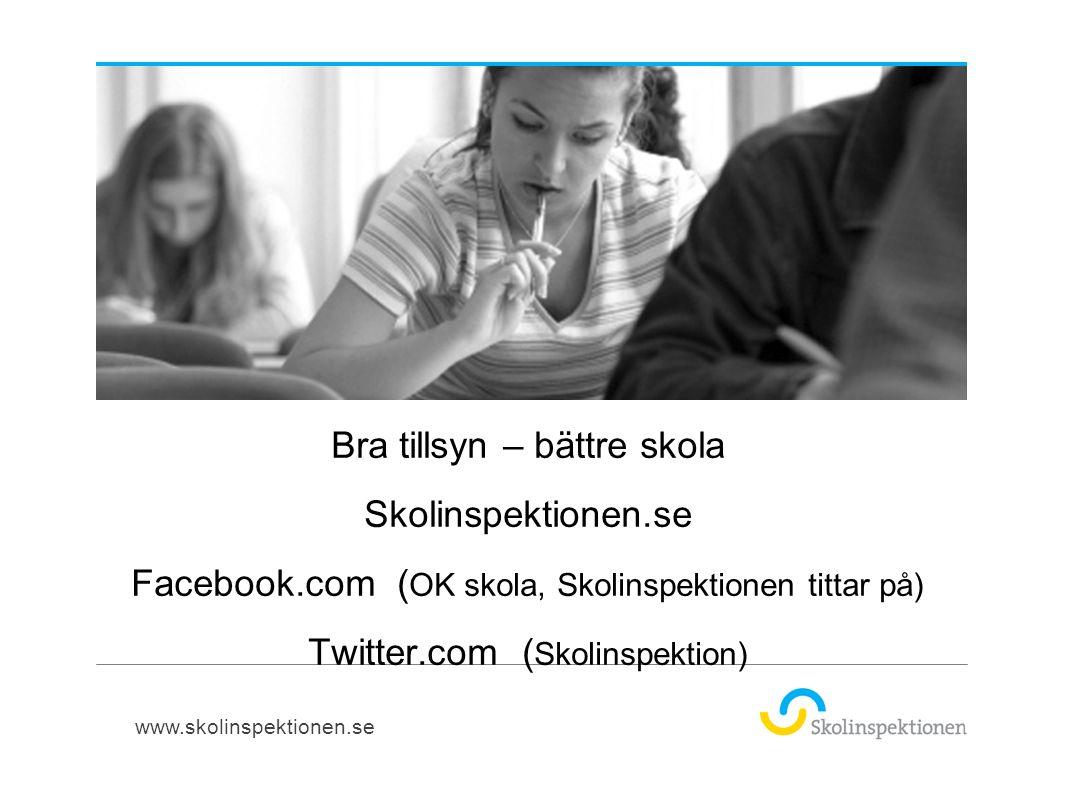 Frågor? Karin.yllo-werner@skolinspektionen.se tel 08-586 083 22 076-1297622