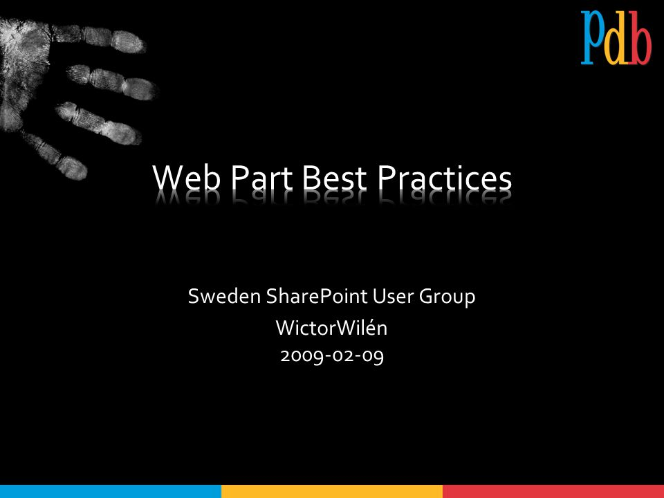 #8 – Web Part Properties Tänk på scopet [Personalizable(PersonalizationScope.Shared)] [WebPartStorage(Storage.Shared)] public int Prop{ get; set; }
