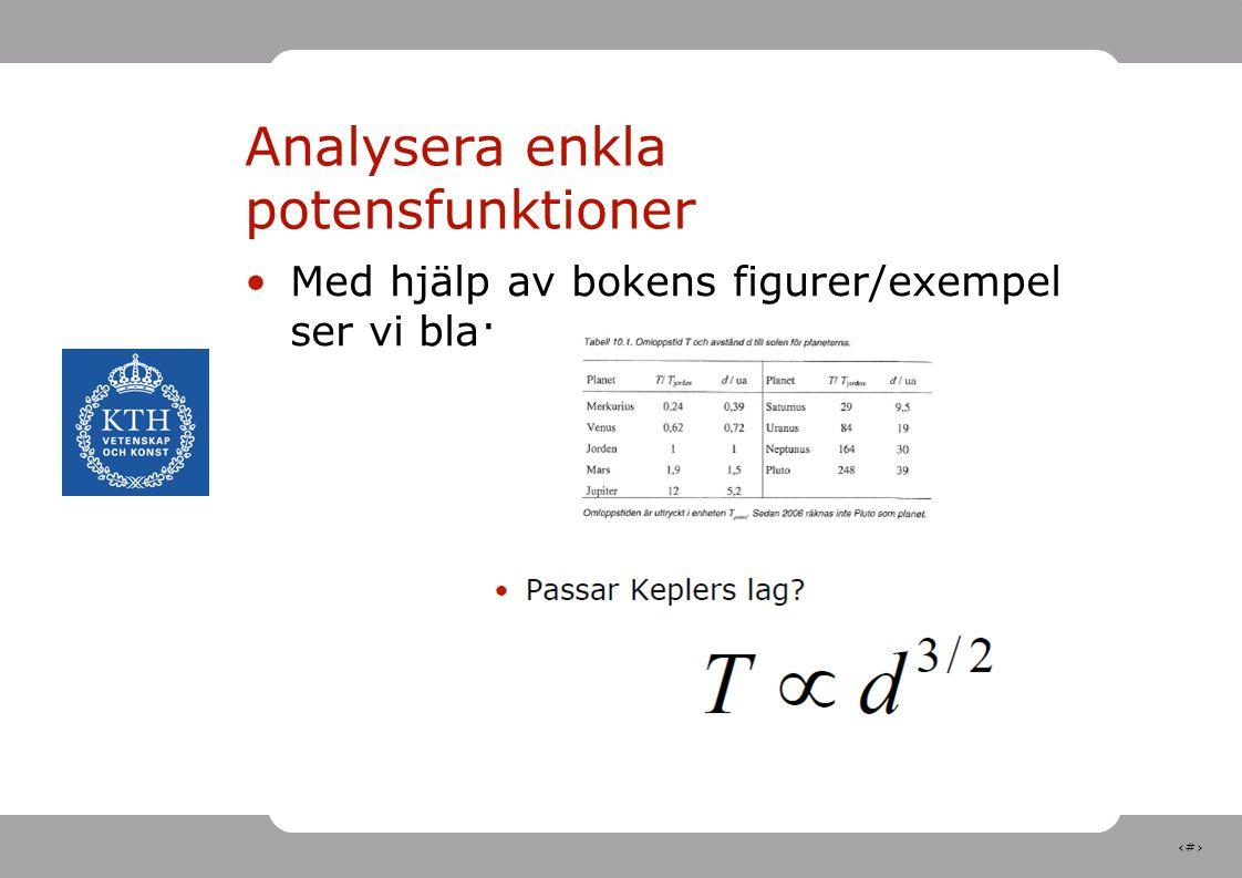29 Nästa föreläsning 1 F11Ons, 5 okt, 10:00-11:45Forum Aulan Felanalys och noggrannhetsanalys Grimvall Kap 11.2 + material ur ETTER