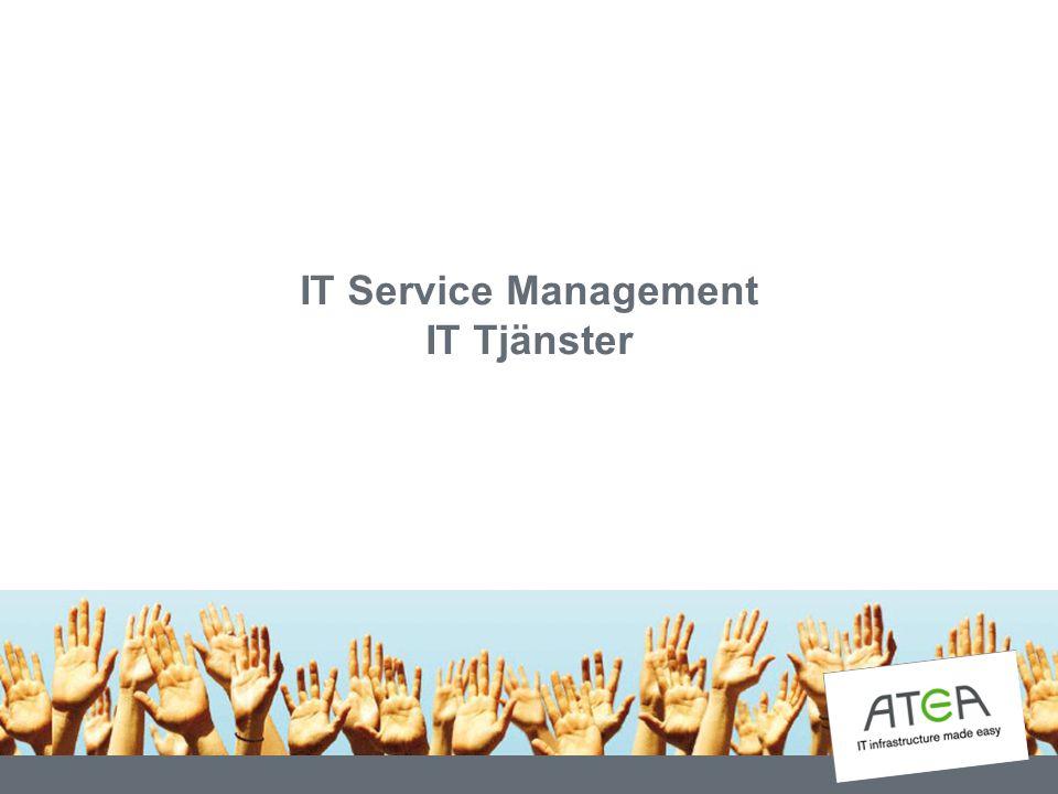 IT Service Management – vad är det.