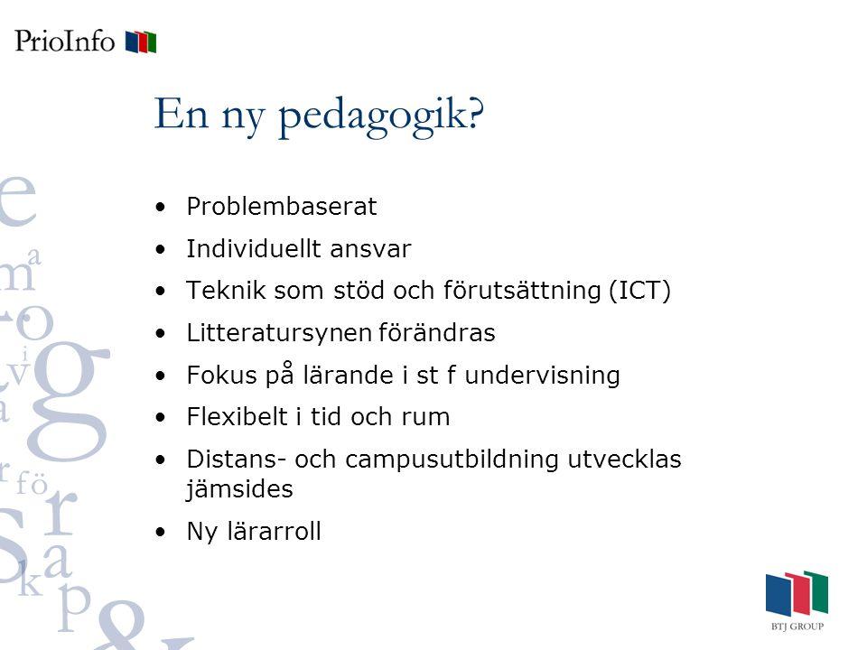 En ny pedagogik.