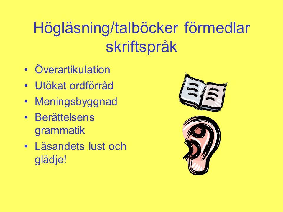 Olika sätt att läsa TPB i samarbete med BTJ förlag, 2008 Redaktör Jenny Nilsson