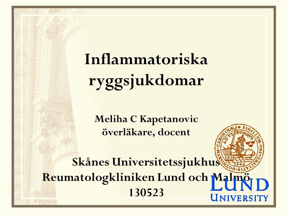Vaccination vid inflammatorisk reumatisk sjukdom