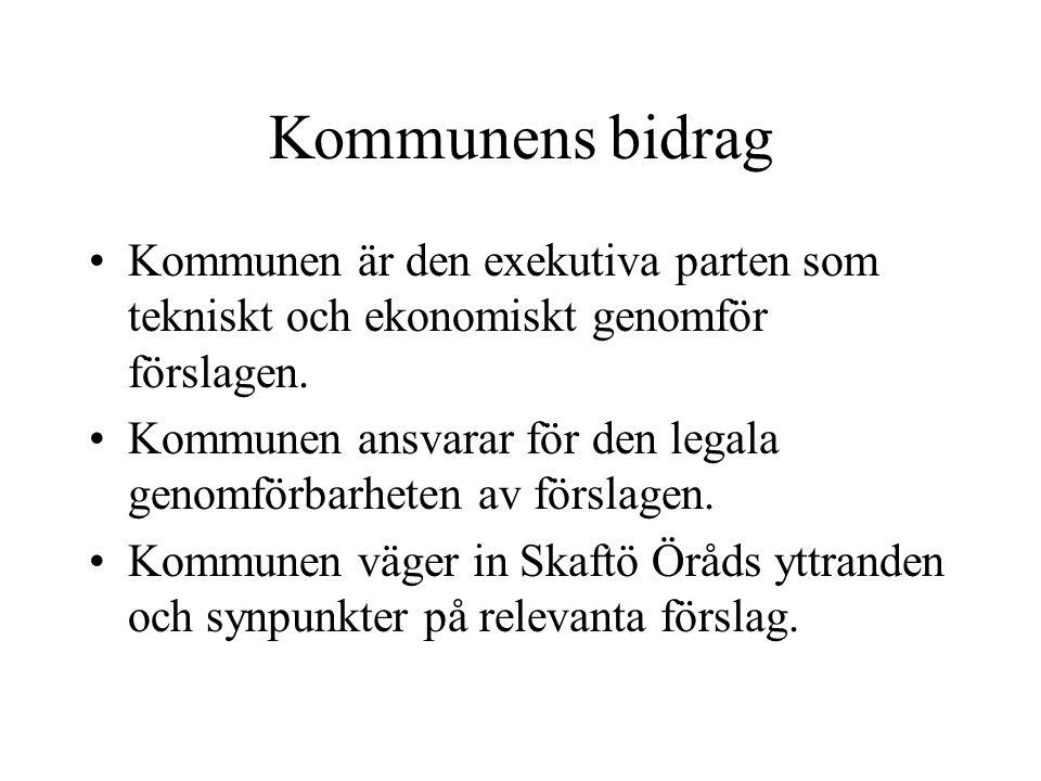 Idrotts och fritidsgrupp Arbetsinriktning: Sammankallande: Vakant -Se över hur medelsfördelningen tillgodoser Skaftö föreningar inom kommunen.
