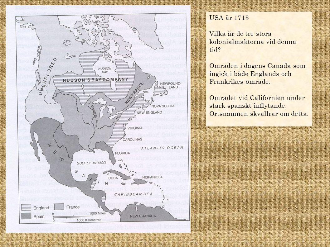 Varför Britterna ville behålla kontrollen över Nordamerika.