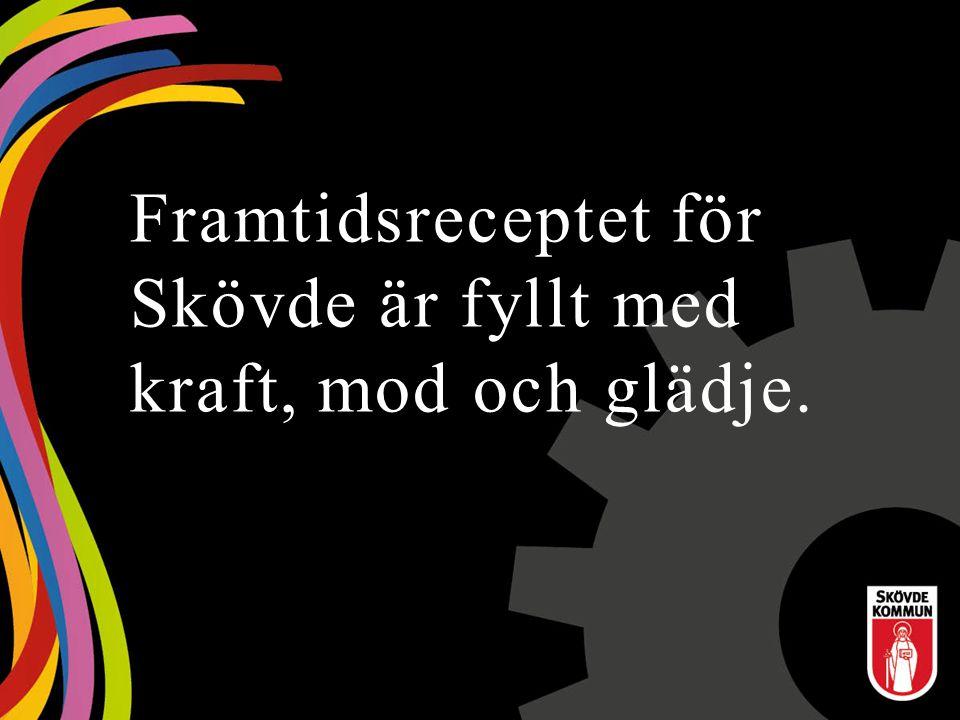 Prognos skatter och bidrag ÅrPrognos skatteintäkter (mnkr) Ökning skatteintäkter Ökning kostnader 20152 5344,2 %3,3 % 20162 6484,5 %4.3 % 20172 7674,5 %4,8 % Utdebitering skatt 20:86 för år 2015 SKL:s bedömningar ligger till grund för Skövde kommuns skatteprognoser