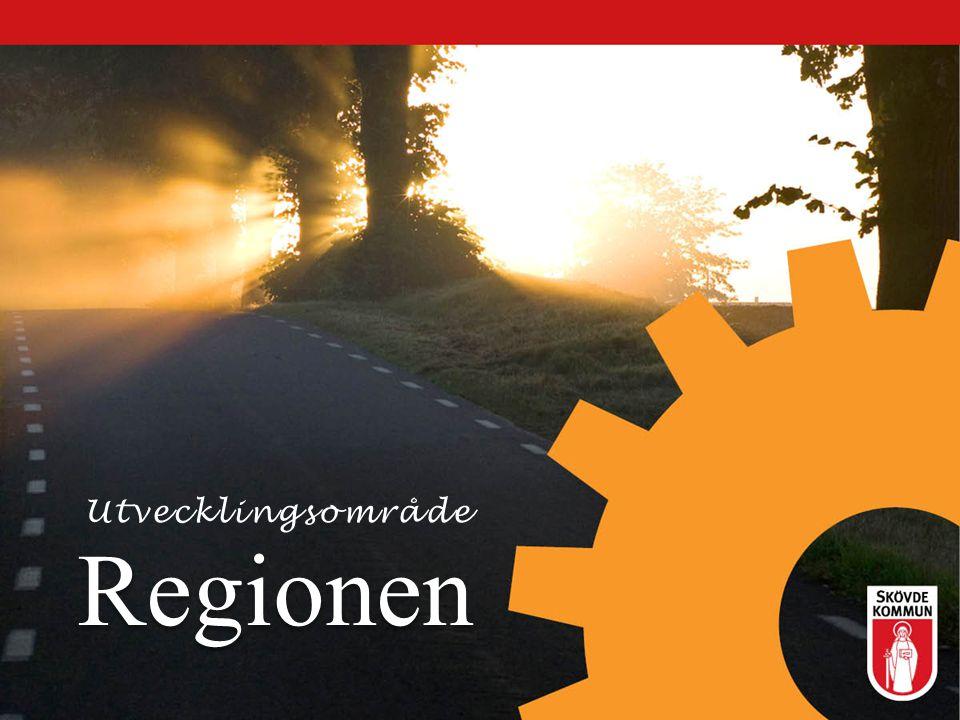 Regionen E 20 och stambanan Satsningar runt resecentrum Ny- och ombyggnad av busshållsplatser Kollektivtrafiksåtgärder