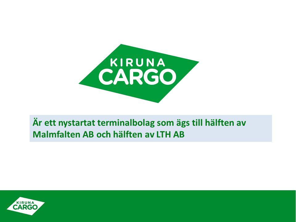 Är ett nystartat terminalbolag som ägs till hälften av Malmfalten AB och hälften av LTH AB