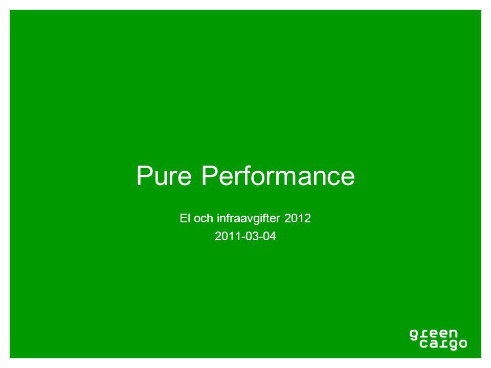 Pure Performance El och infraavgifter 2012 2011-03-04