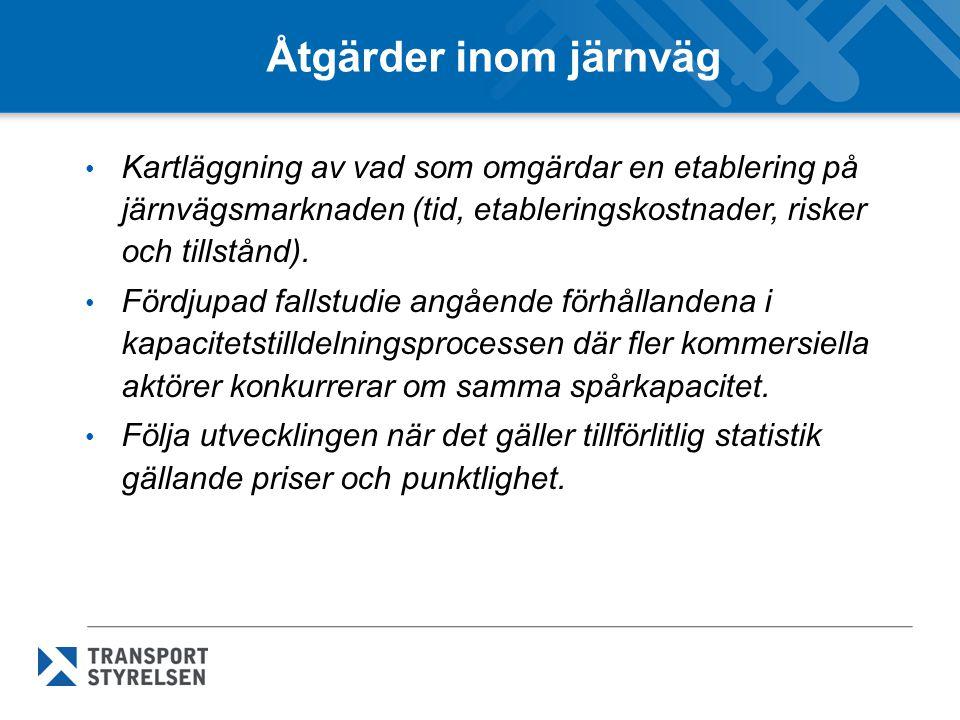 Slut Frågor? Nils Enberg 010-49 555 52, nils.enberg@transportstyrelsen.se