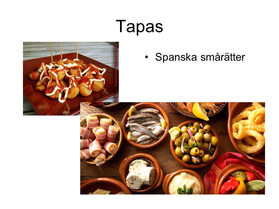 Tapas Spanska smårätter