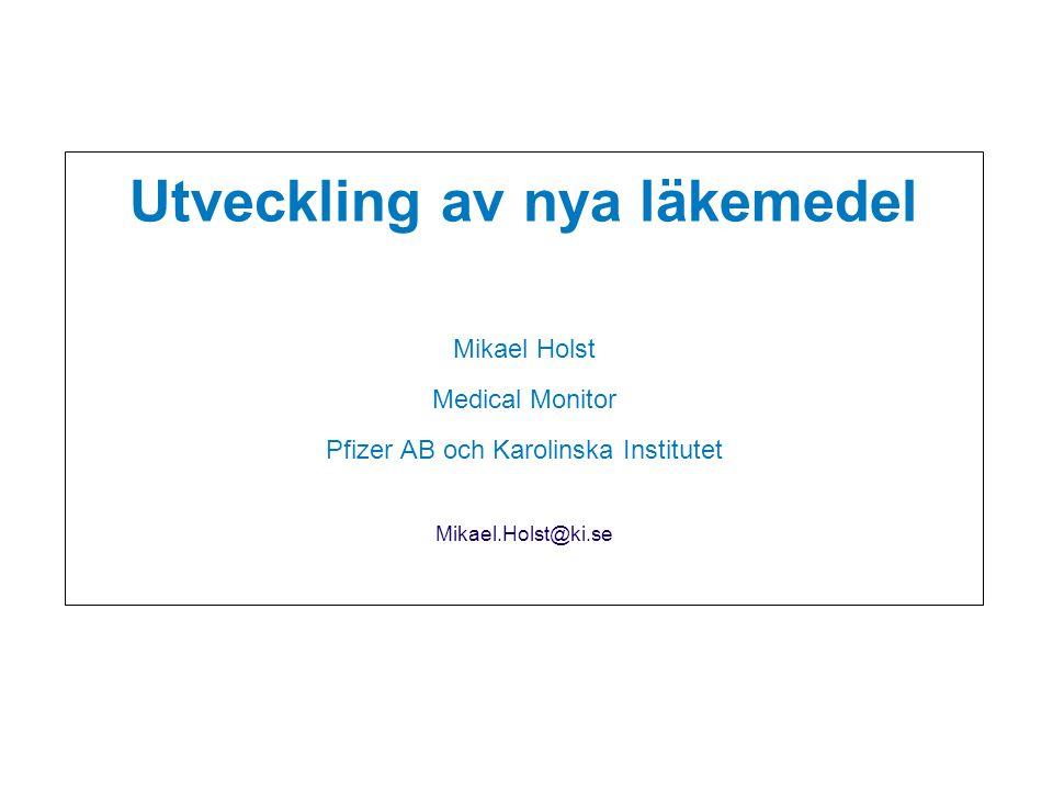 Den forskande läkemedelsindustrins uppgift: Utveckla bättre mediciner, baserade på medicinska behov, till gagn för patienter i Sverige och världen över