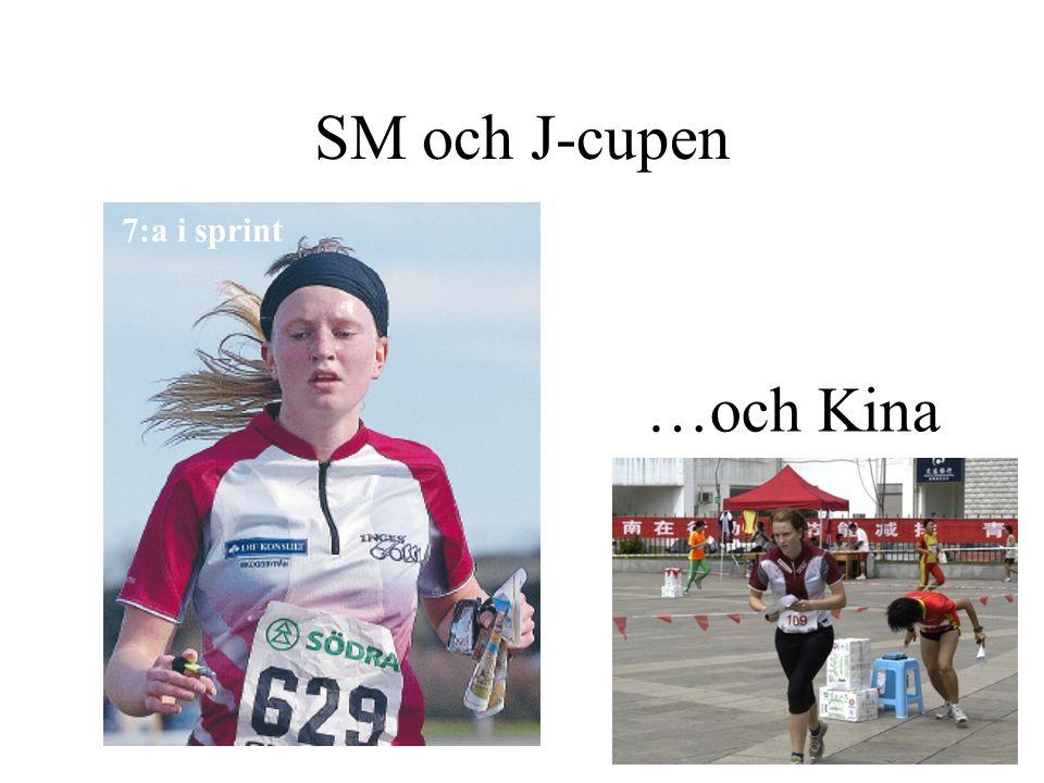 SM och J-cupen 1:a i Jämjö 11:a på ultralång