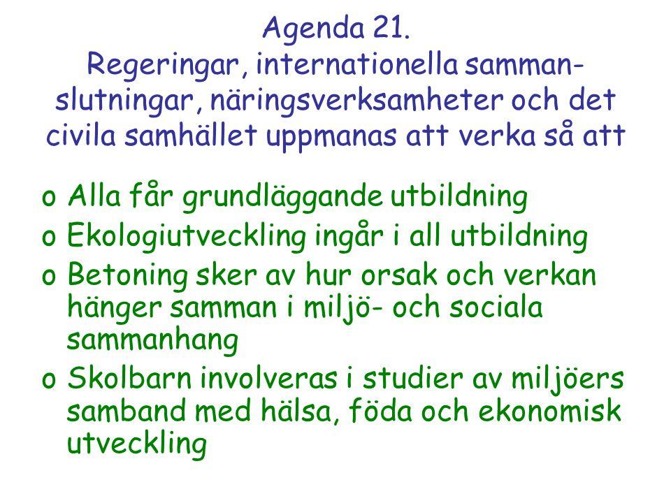 Agenda 21.