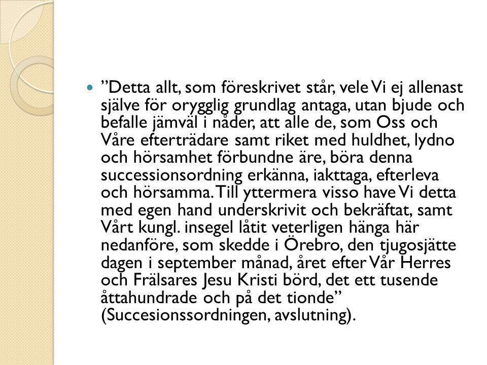 Trender i svenskt föreningsliv Svagare kopplingar mellan partier och föreningsliv Minskat antal medlemmar i organisationer, men ingen radikal minskning Konsekvenser för demokratin.