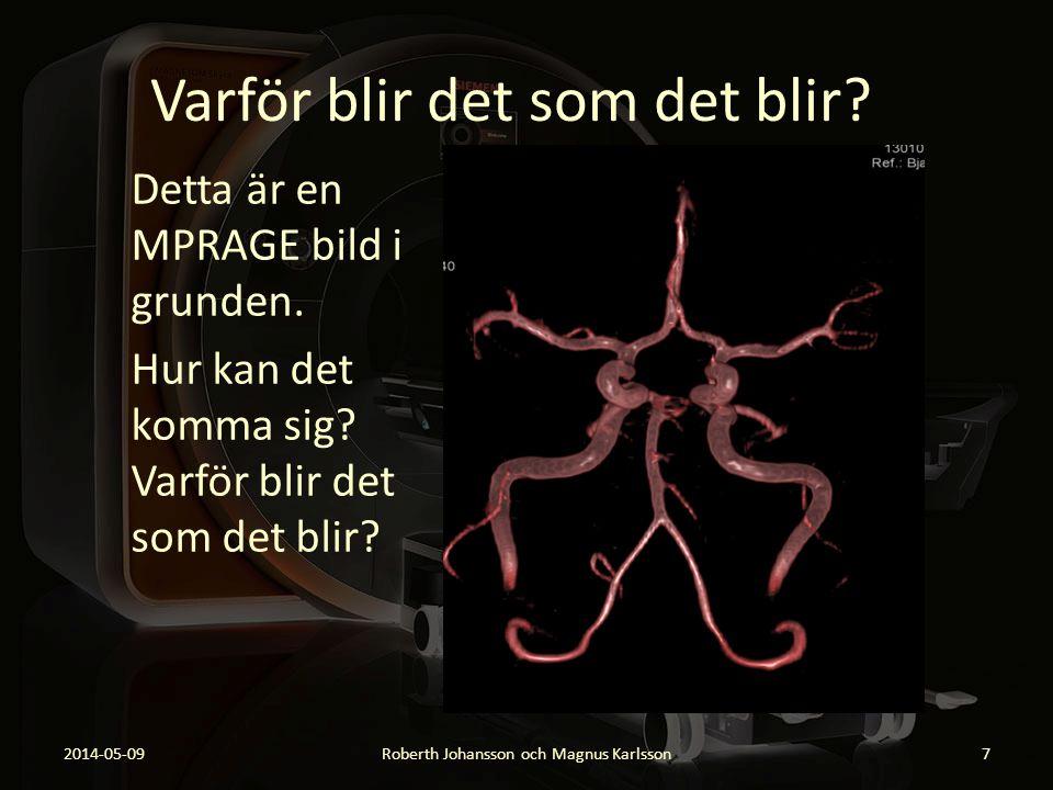 Varför blir det som det blir? 2014-05-09Roberth Johansson och Magnus Karlsson18