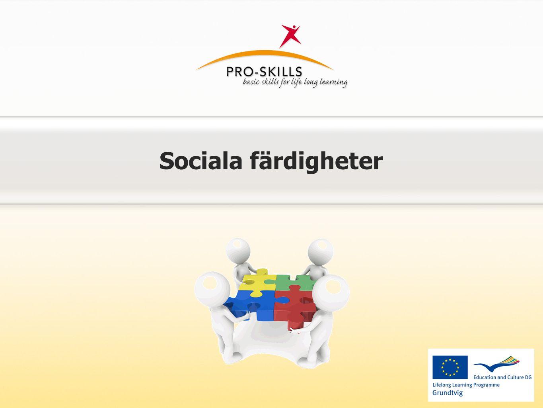 Sociala färdigheter