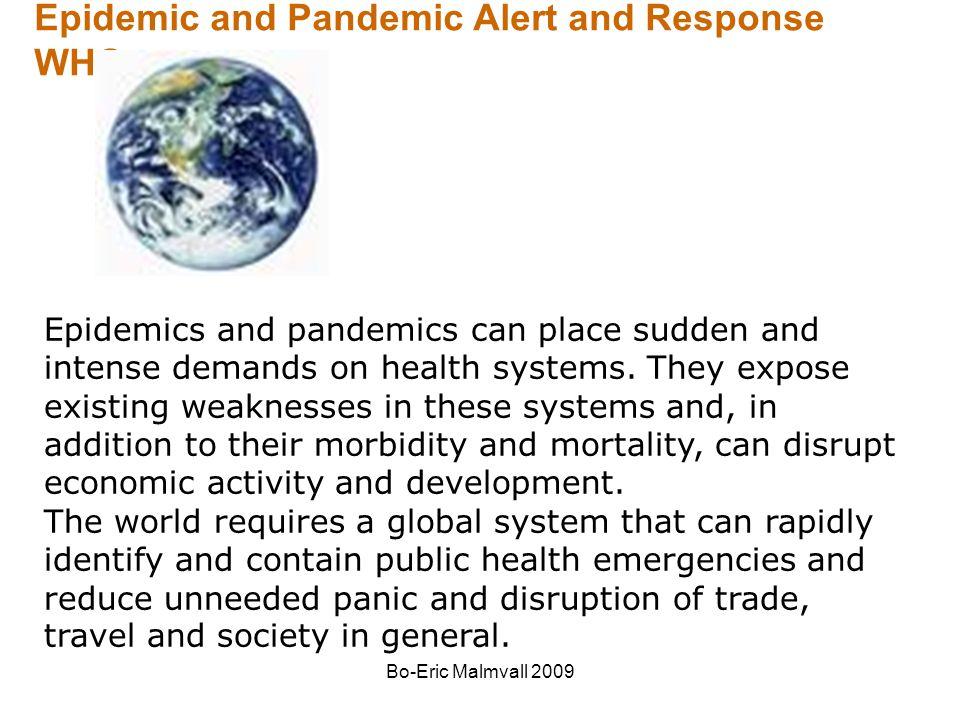 Bo-Eric Malmvall 2009 Influensa vaccination Alla över 65 år Alla i medicinska riskgrupper –Lungsjukdom –Hjärtsjukdom –Metabola sjukdomar t.ex.