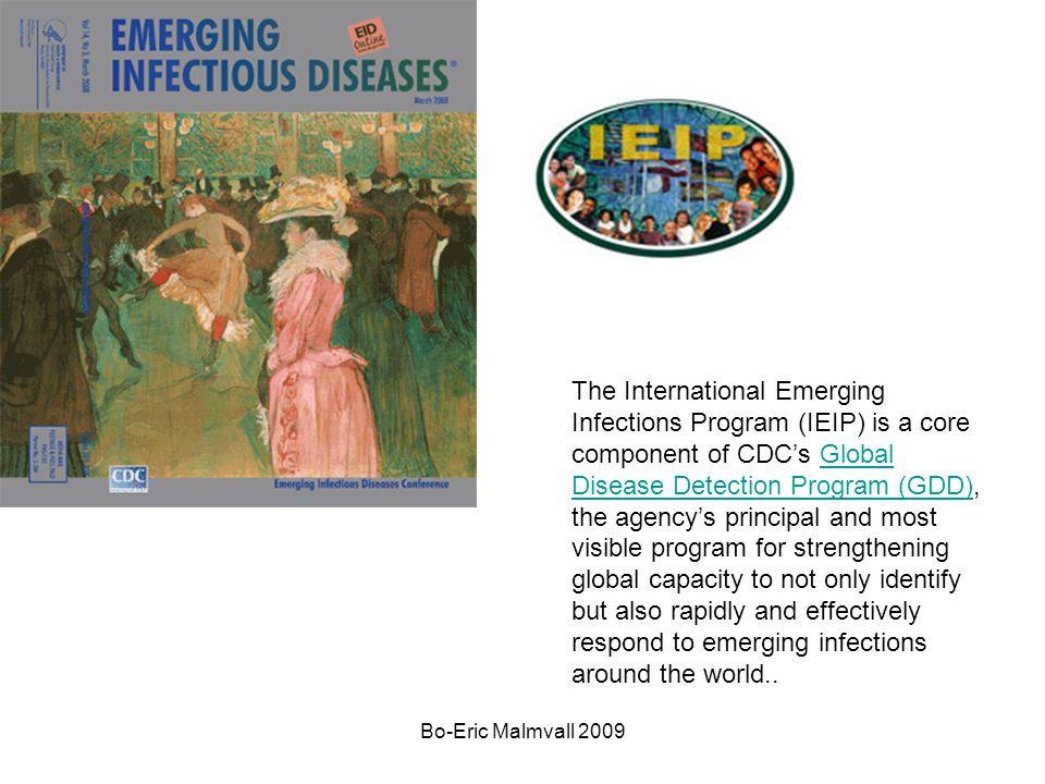 Bo-Eric Malmvall 2009 Fågelinfluensa H5N1 högpatogen Humana fall –Barn eller unga vuxna –Inkubationstid längre än vanlig influensa –Hög feber, svår allmänpåverkan, muskelvärk, hosta, diarré, blödningar, m.m.