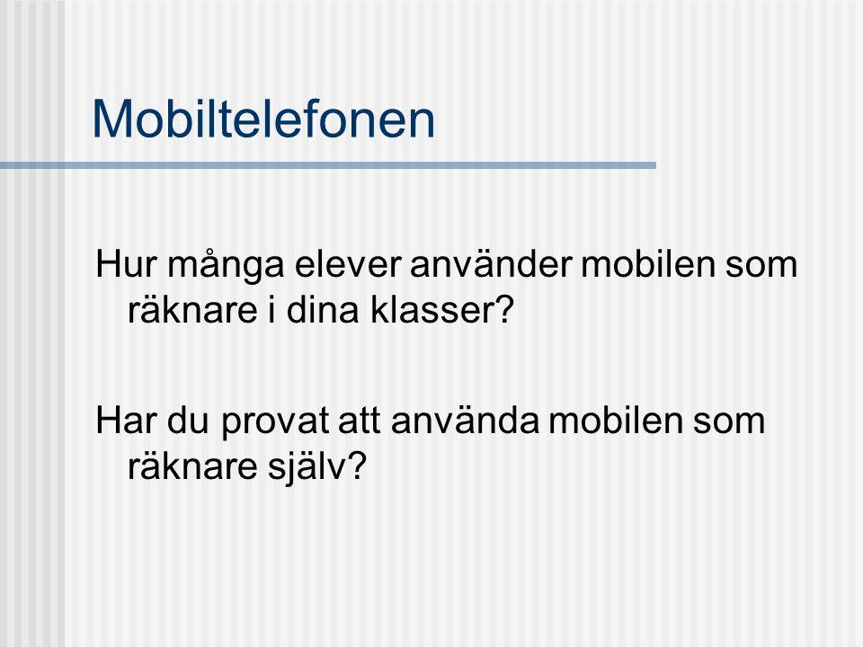 Svensk forskning om tekniska hjälpmedel i matematik ADM-projektet, Björk & Brolin 1995 Dahland 1998 Lingefjärd 2000 Bergqvist 2001 Samuelsson 2003 Engström 2006