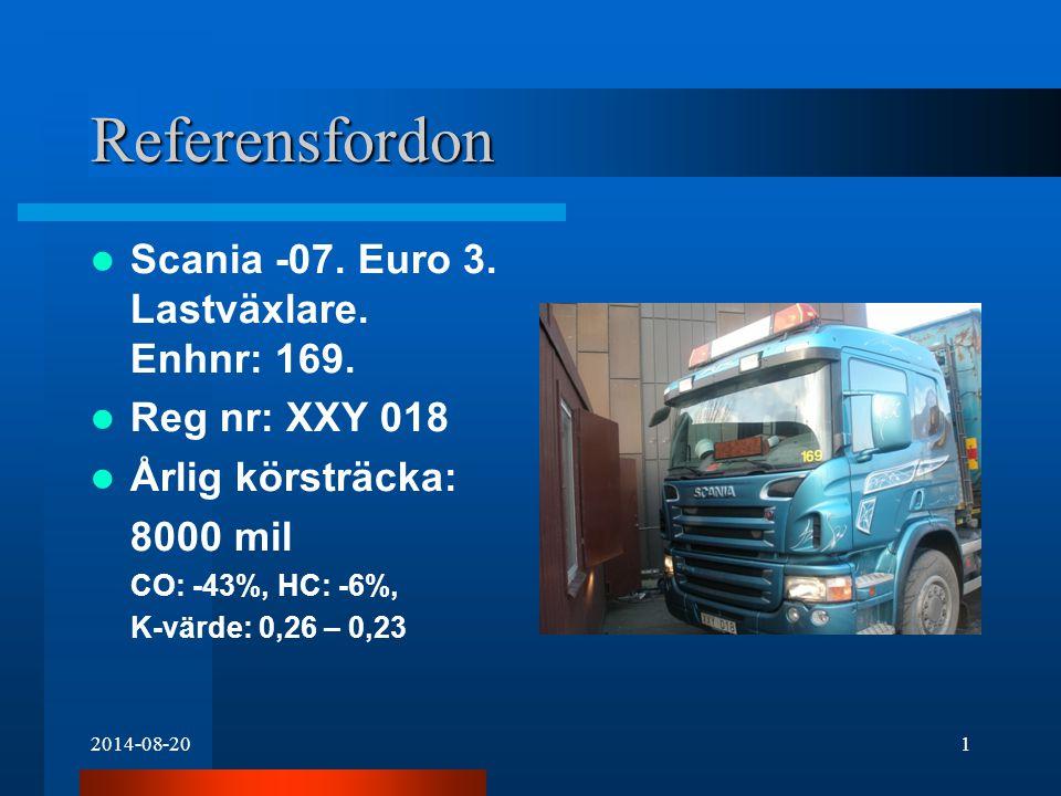 2014-08-202 Referensfordon Scania -06.Euro 3. Kylbil + släp.