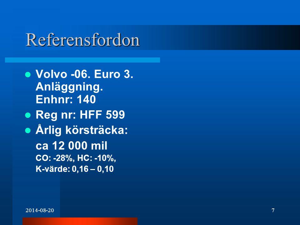 2014-08-207 Referensfordon Volvo -06. Euro 3. Anläggning.