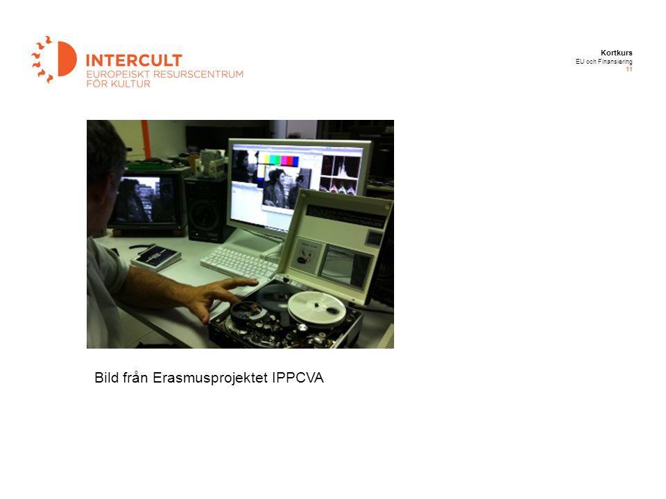 Kortkurs EU och Finansiering 11 Bild från Erasmusprojektet IPPCVA