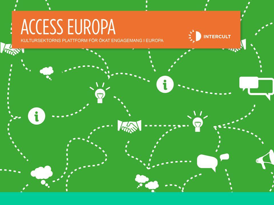 Kortkurs EU och Finansiering 4 ACCESS EUROPA Plattformsmöte 31 maj 4 RUBRIK /25PT UNDERRUBRIK /16PT Brödtext 16/pt
