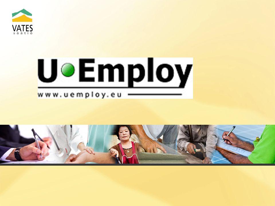 UEmploy utvärderingsverktyg Ett verktyg att utvärdera arbetsplatser och arbetsprocesser.
