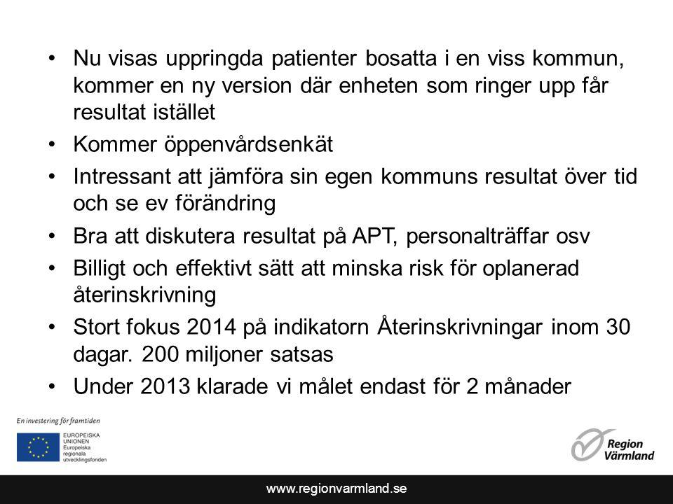 www.regionvarmland.se När du låg på sjukhuset fick du hjälp med det du sökte för.