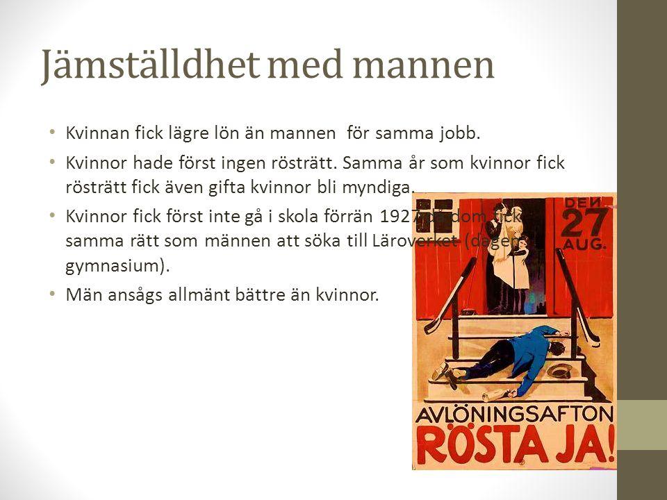 Att växa upp i Sverige Hårt liv för fattiga, en dans på rosor för rika Barnarbete i fabrik och på gårdar Okej att slå barn Bara pojkar fick gå i skolan