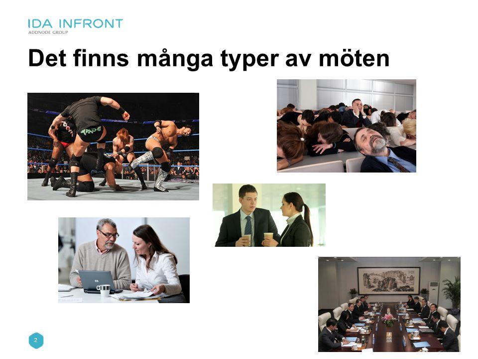 2 Det finns många typer av möten