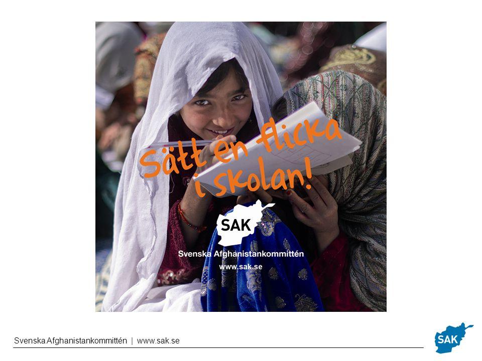 Afghanistan idag Hälften av alla barn går inte i skolan Oroligheter, stora avstånd och sociala normer utgör hinder Kvinnliga lärare behövs Det finns stora utmaningar kvar