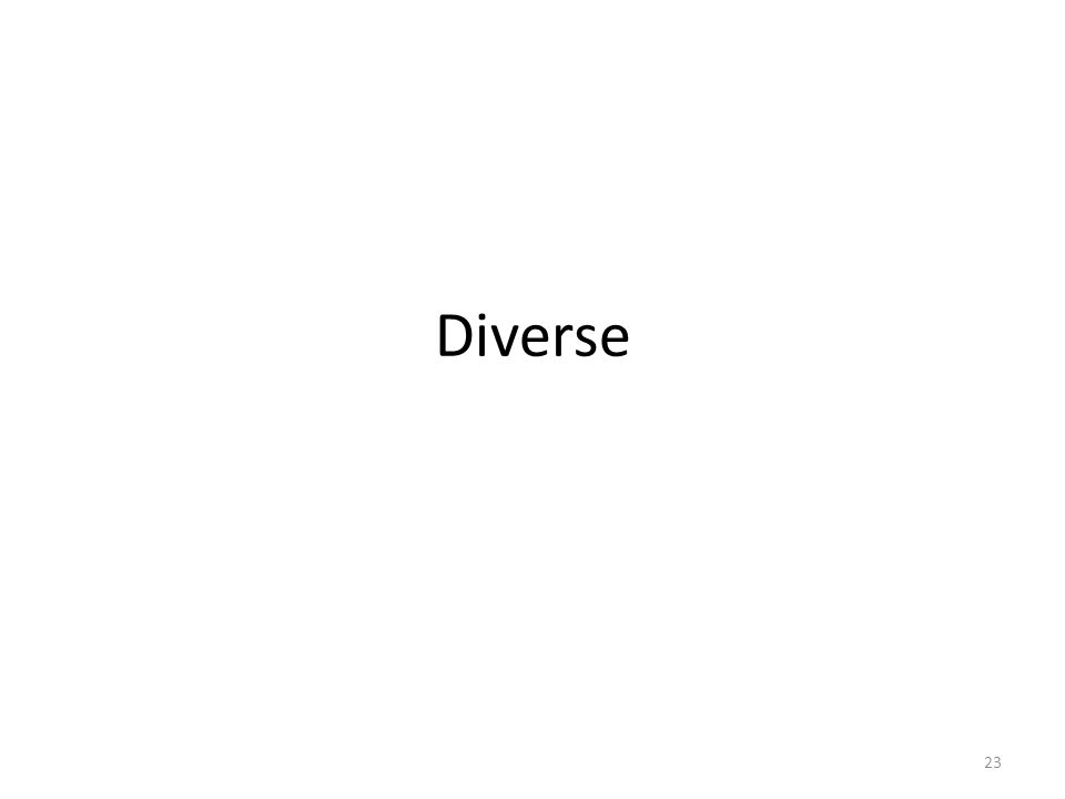 Diverse 23