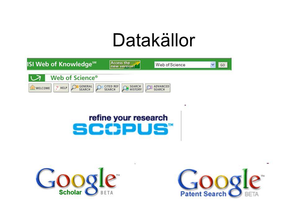Datakällor