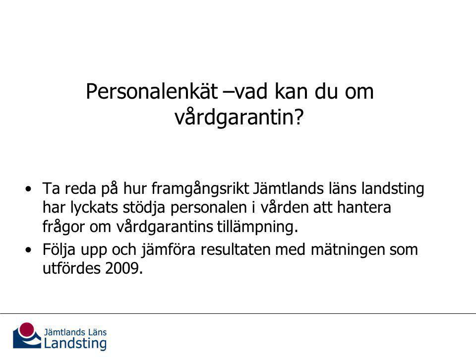 Metod och urval Webbenkät under vecka 37-40/41, 2010.