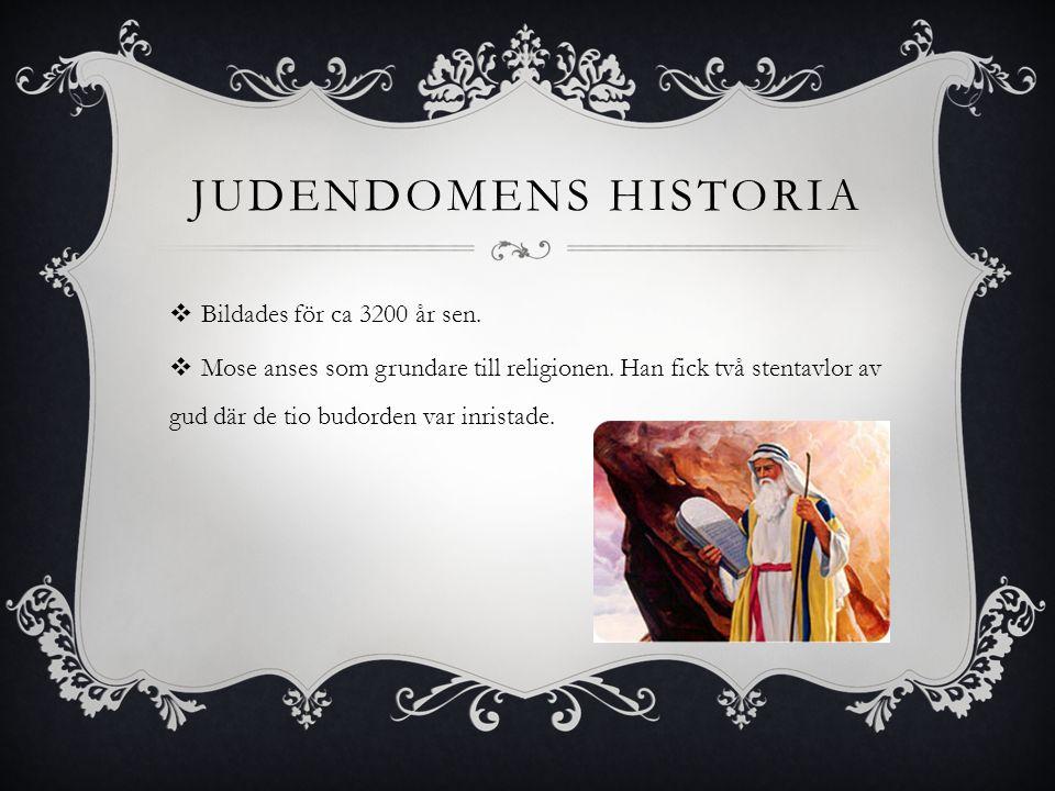 JUDENDOMEN - inte störst, men först…