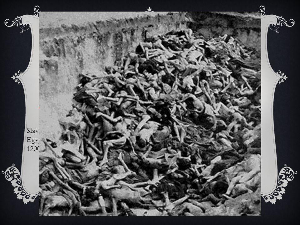FÖRFÖLJELSEN  Judarna har sedan slaveriet i Egypten alltid varit förföljda.