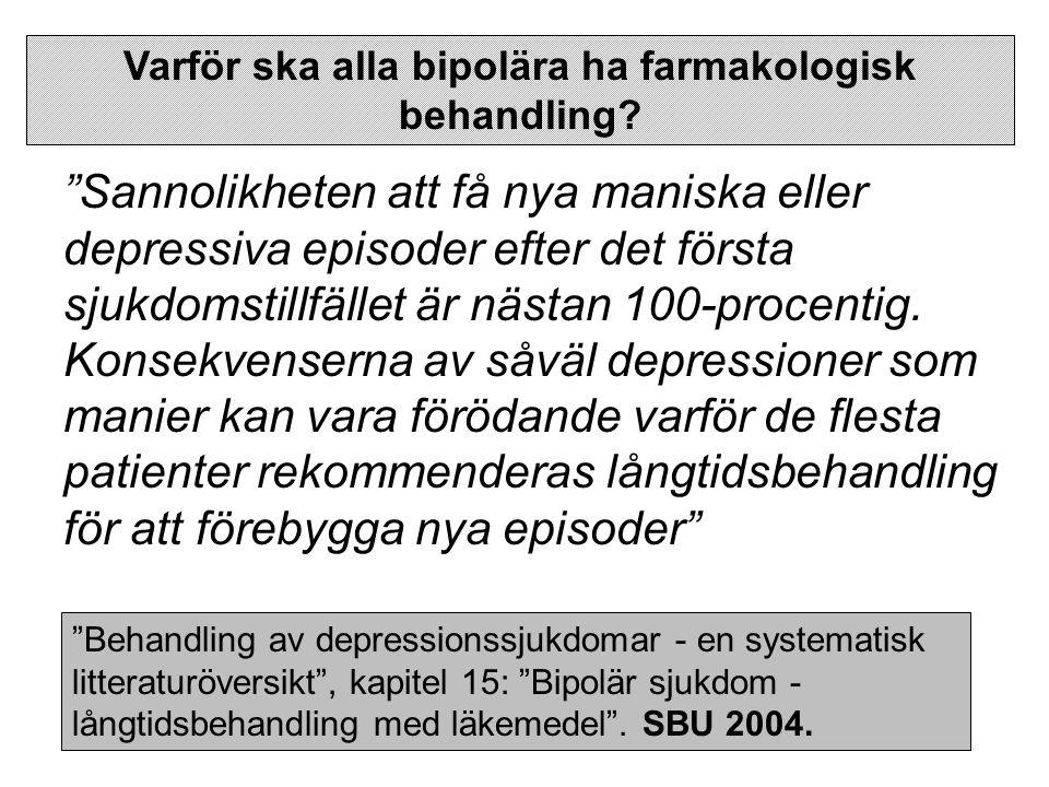 C.Neuroleptikum- Quetiapin (Seroquel) Dokumentation för akut mani.