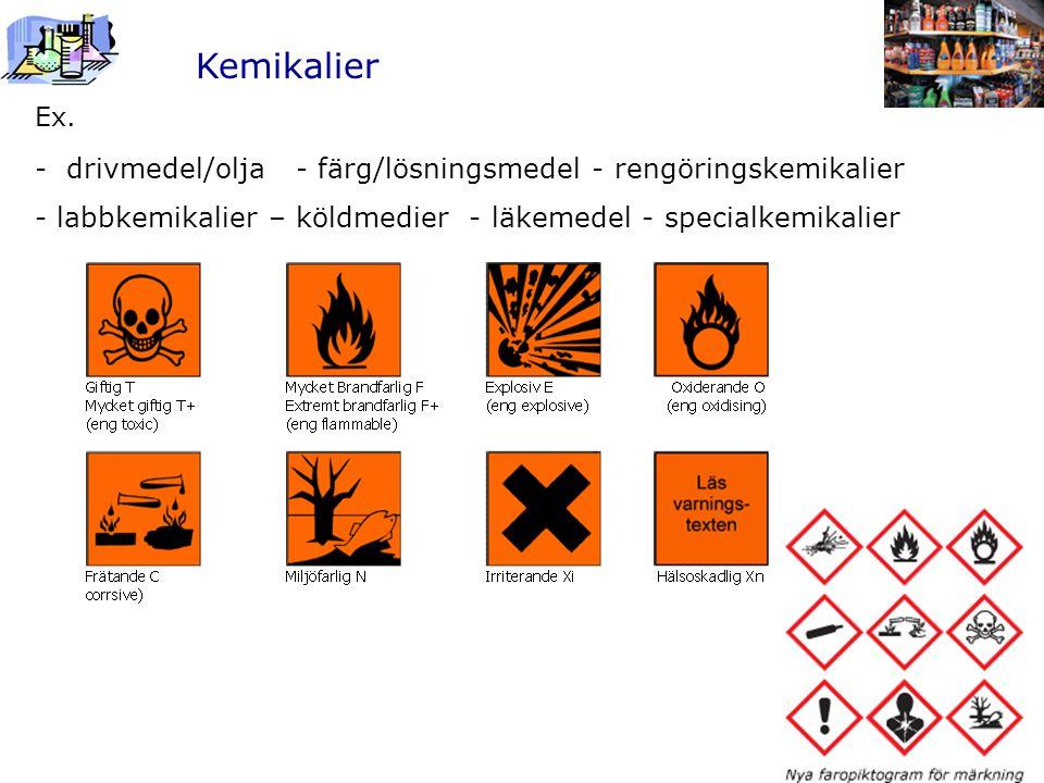 Kemikalier Ex.