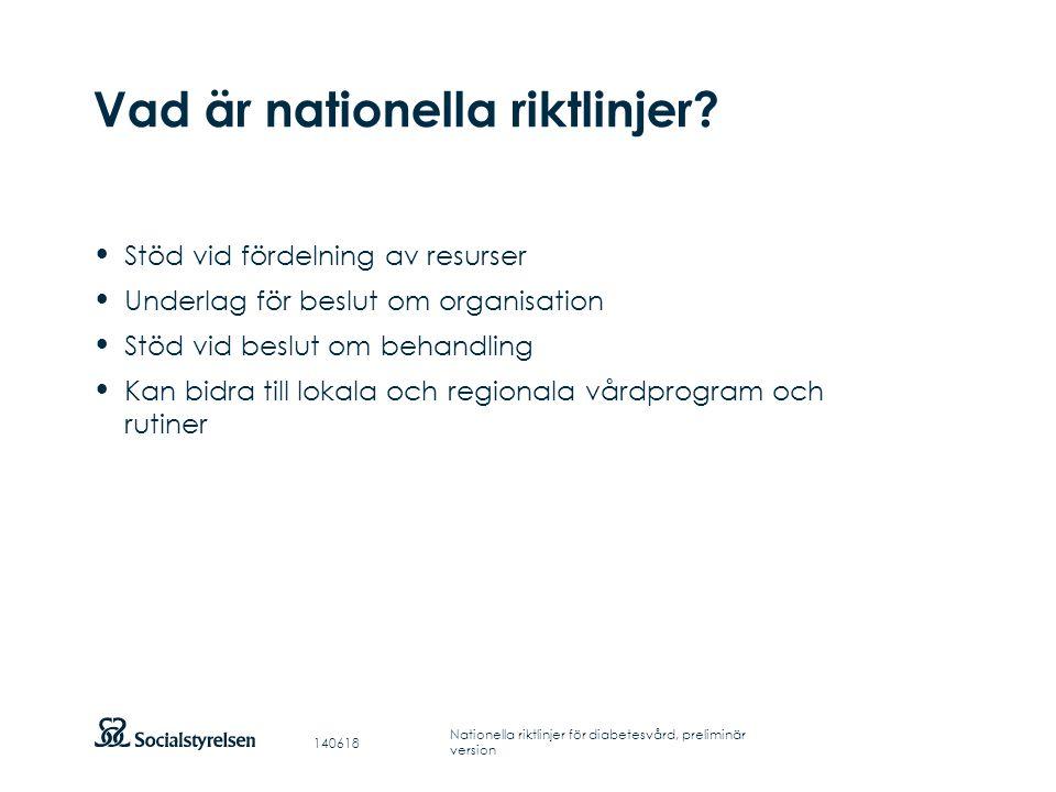 Att visa fotnot, datum, sidnummer Klicka på fliken Infoga och klicka på ikonen sidhuvud/sidfot Klistra in text: Klistra in texten, klicka på ikonen (Ctrl), välj Behåll endast text Nationell utvärdering 2011 Landstingen och regionerna upplever att de har ett gott stöd av de nationella riktlinjerna för diabetsvård 2010.