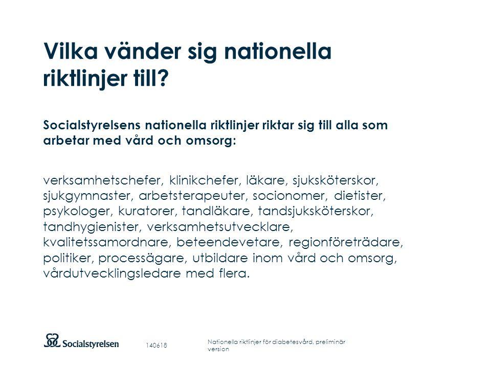 Att visa fotnot, datum, sidnummer Klicka på fliken Infoga och klicka på ikonen sidhuvud/sidfot Klistra in text: Klistra in texten, klicka på ikonen (Ctrl), välj Behåll endast text Rubrik: Century Gothic, bold 33pt Nationella riktlinjer för diabetesvård 2010 Vad är nytt.
