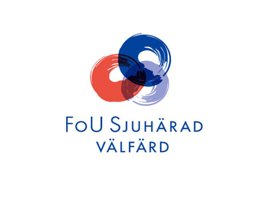 ÄldreVäst Sjuhärad FoU Sjuhärad Välfärd -utvidgning av verksamheten - fr o m 1 januari 2009 FoU Sjuhärad Välfärd