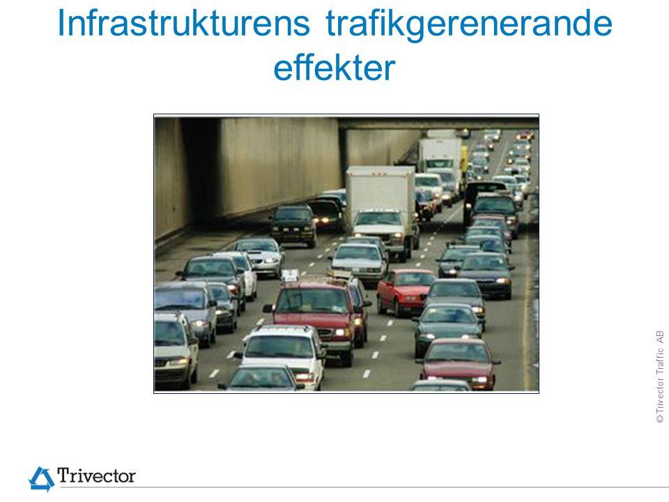 © Trivector Traffic AB Infrastrukturens trafikgerenerande effekter