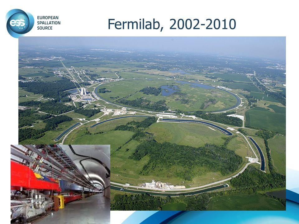Fermilab, 2002-2010