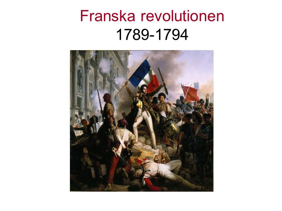 Varför ska vi läsa om franska revolutionen.Det är starten för vår tids demokrati.