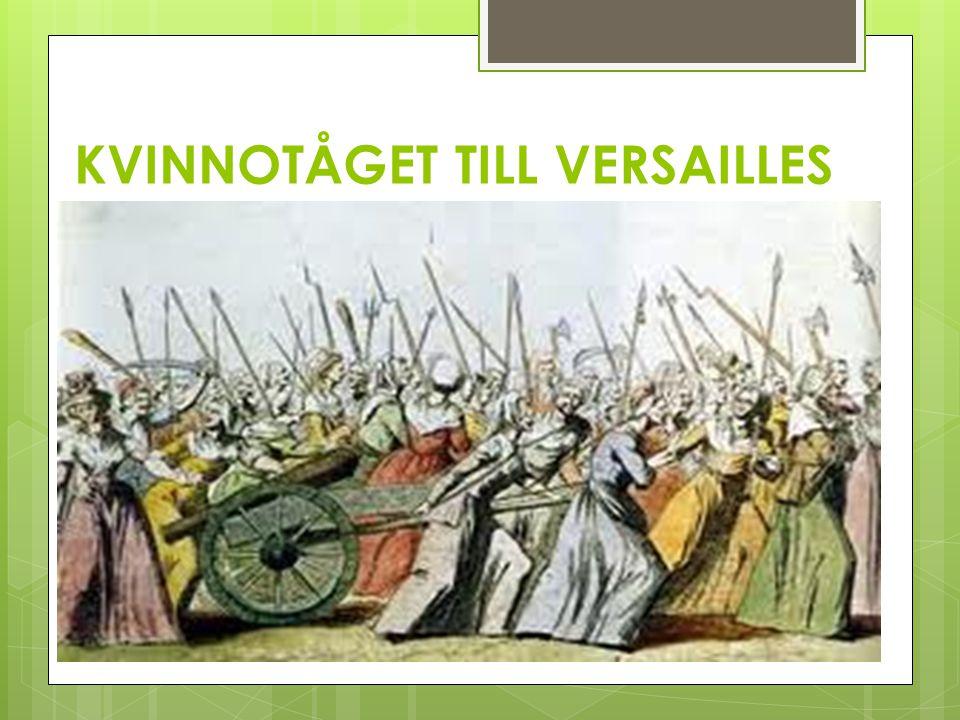 KVINNOTÅGET TILL VERSAILLES