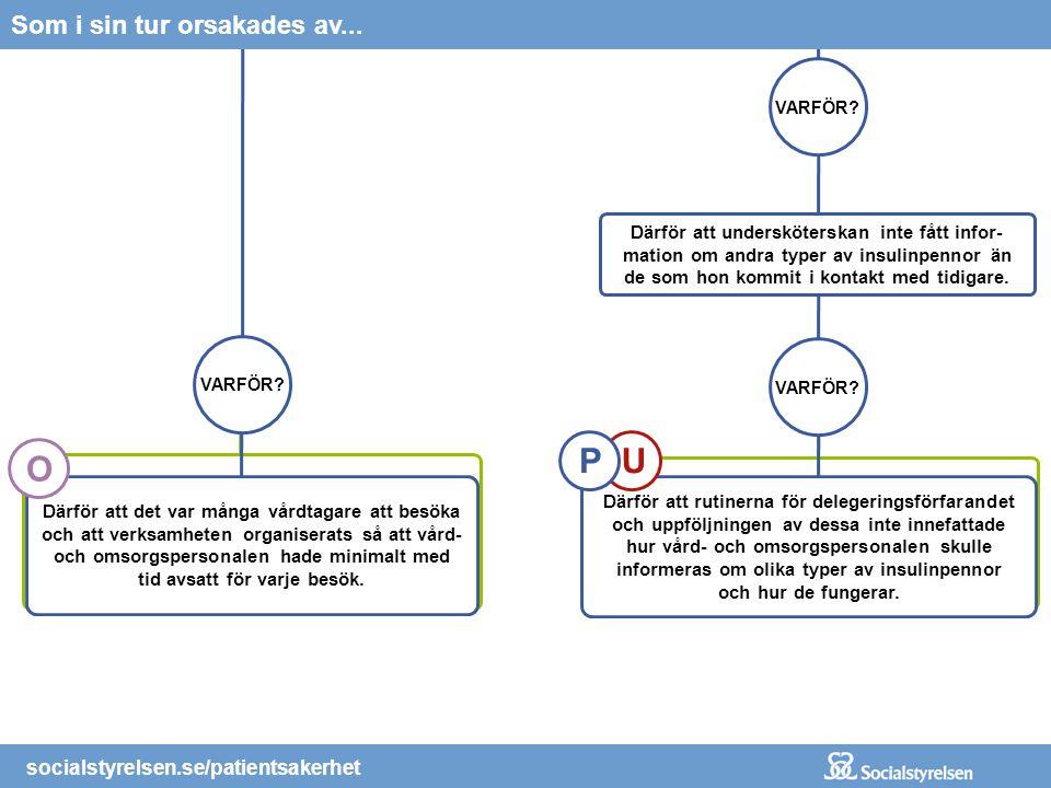 socialstyrelsen.se/patientsakerhet Organisera verksamheten så att det ges förutsättningar för en patientsäker vård, t.ex.