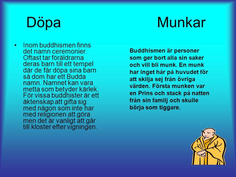 Döpa Munkar Inom buddhismen finns det namn ceremonier.