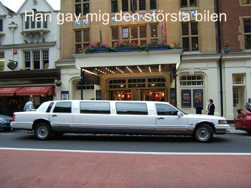 Jag bad om transport